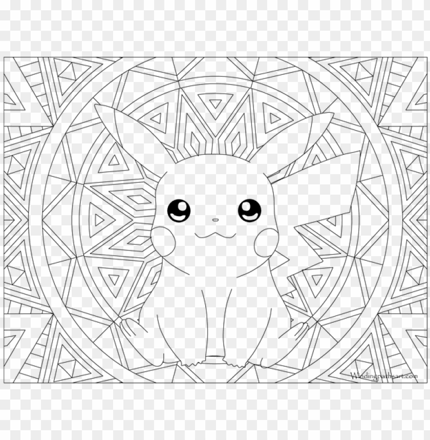 Download 025 Pikachu Pokemon Coloring Page Pokemon Coloring
