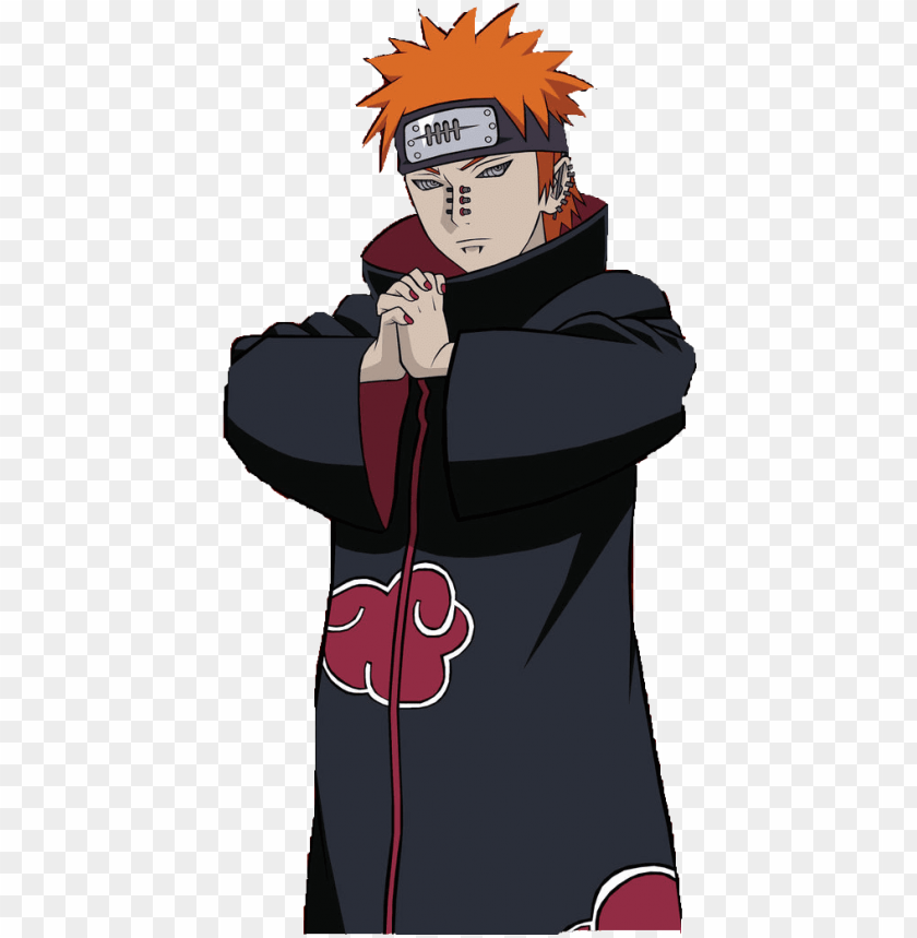 ain naruto png jpg black and white library pain naruto full body