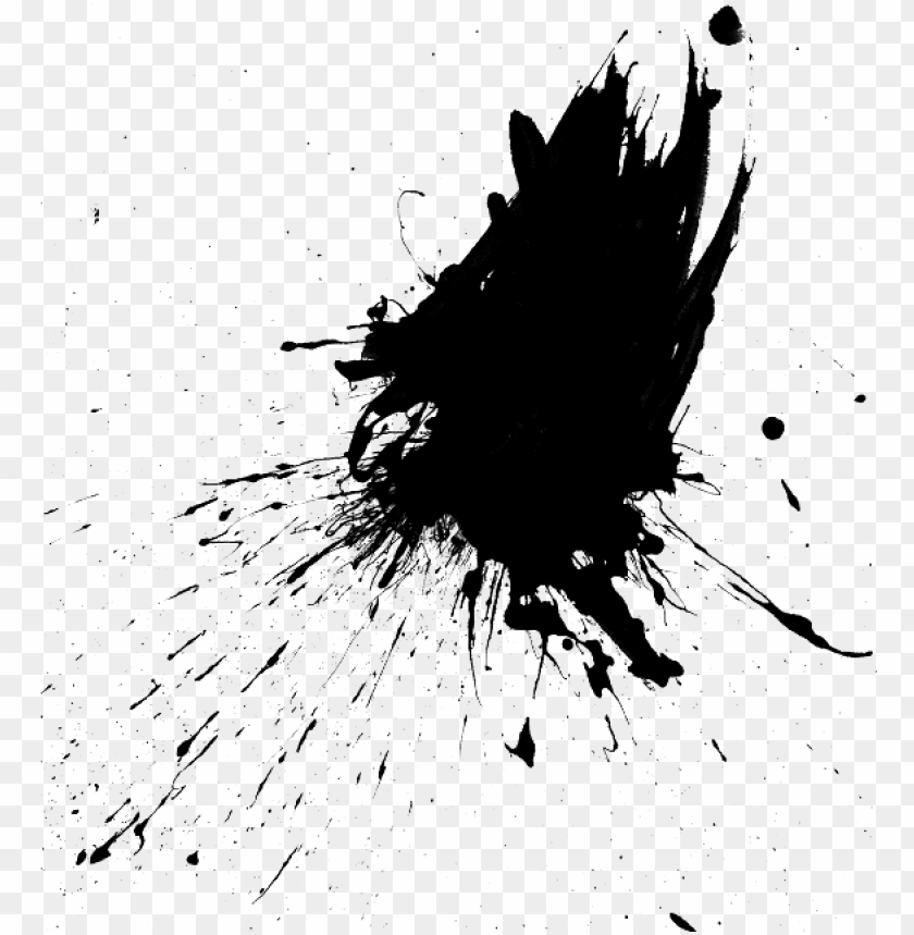 Download Aint Splatter Splash Ink Drop Splattered Drip Silhoue Bird Poop Splatter Transparent Png Free Png Images Toppng