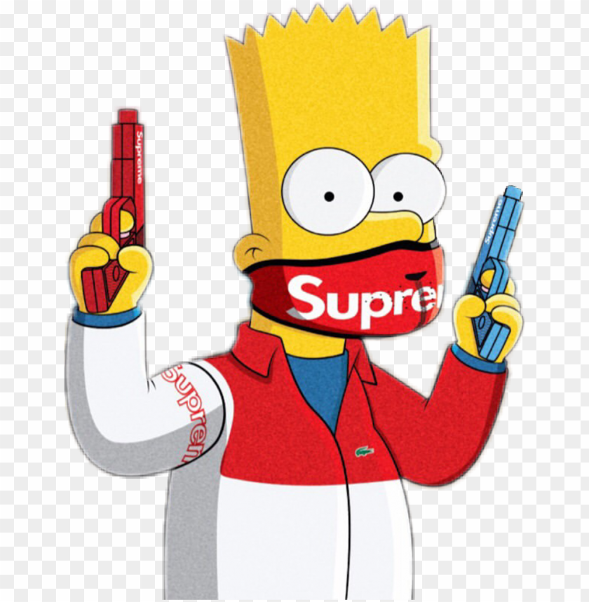 Featured image of post Gangsta Bart Simpson