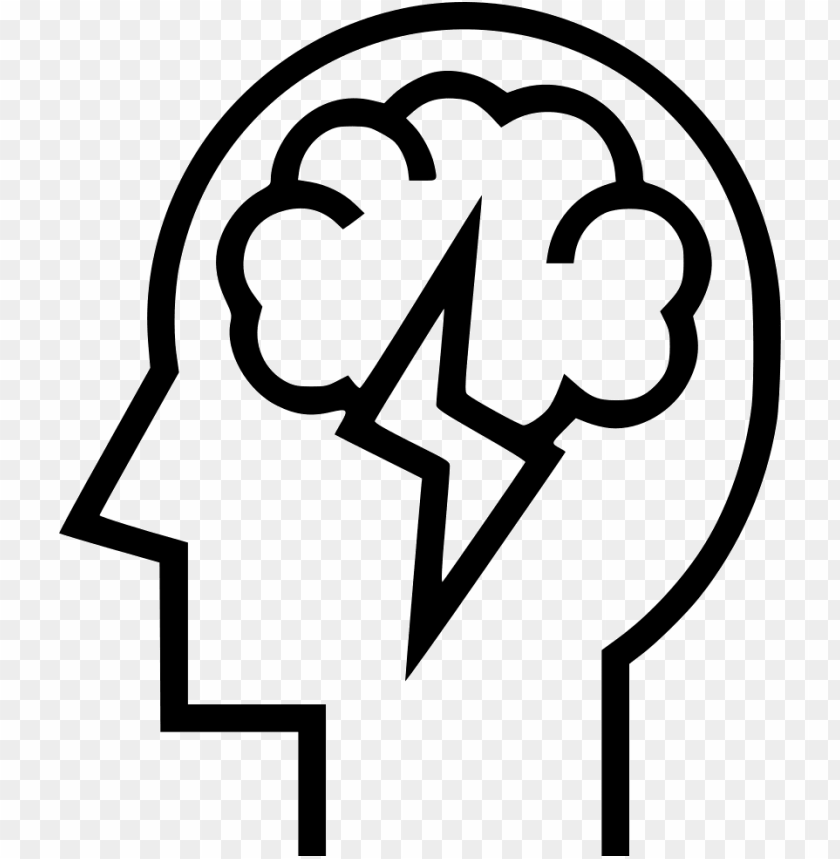 Download Brainstorm Svg Png Icon Free Download Onlinewebfonts Black And White Brainstormi Png Free Png Images Toppng