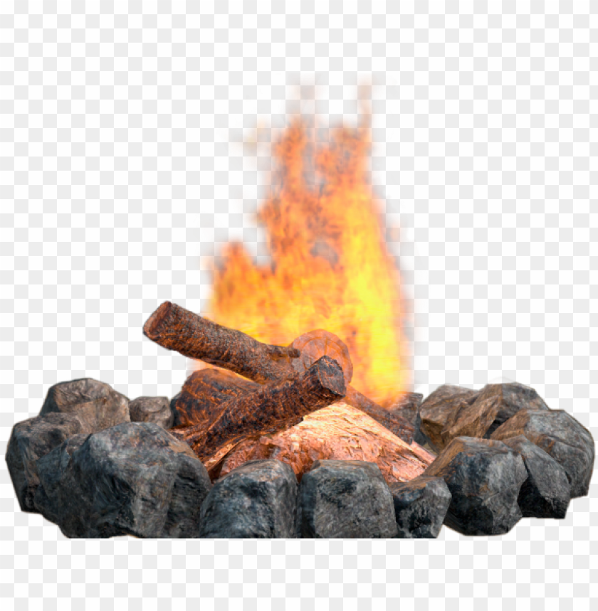 Download Drawn Campfire Fire Png Transparent Background