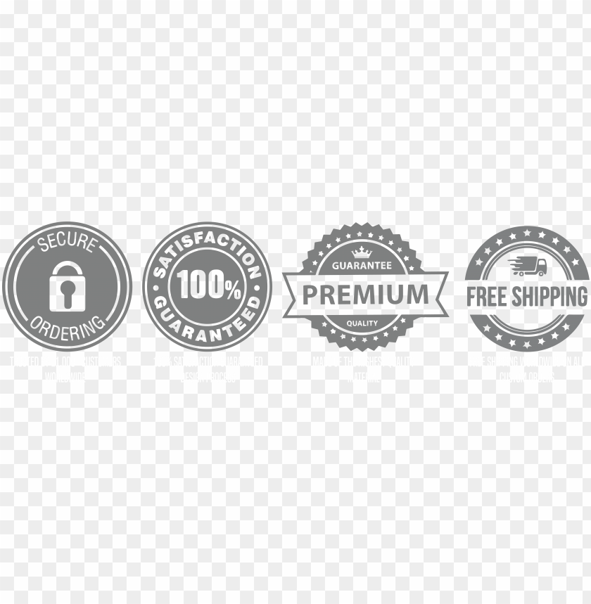 Download Free Shipping Trust Badges Png Free Png Images Toppng