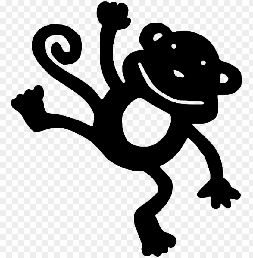 Download Monkey Silhouette Svg Monkey Svg File Png Free Png Images Toppng