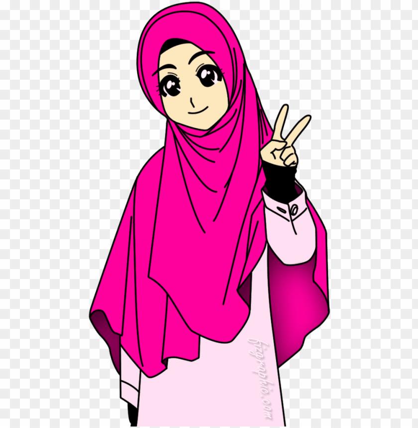 Download Muslimah Islamic Cartoon Islam Muslim Anime Muslimah Animasi Muslimah Bergerak Untuk Powerpoint Png Free Png Images Toppng