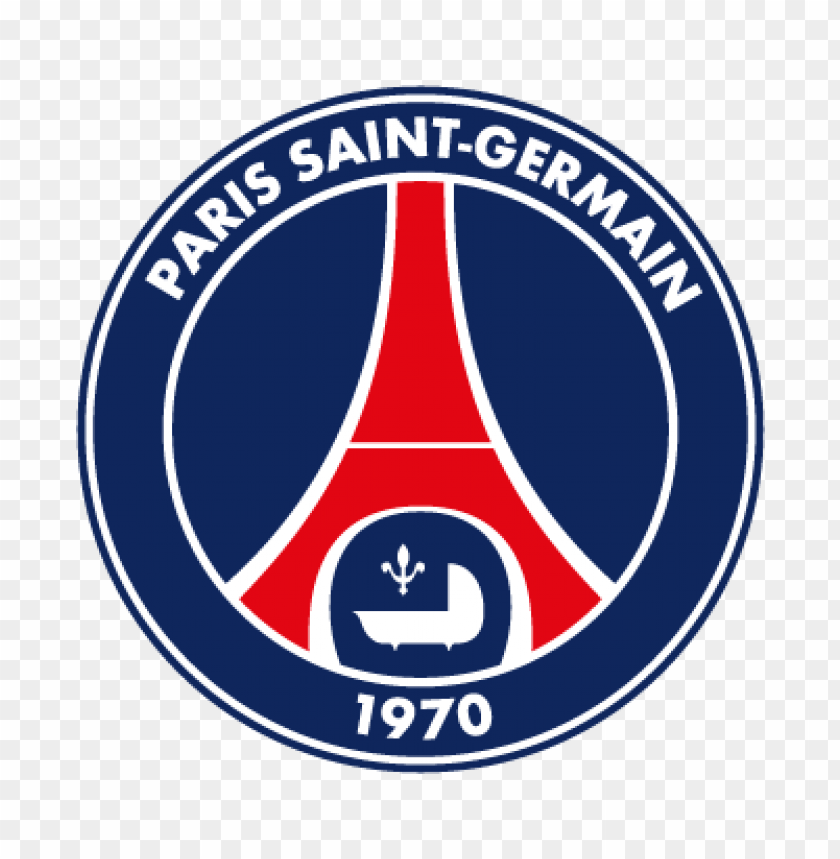 Download Paris Saint Germain Fc Vector Logo Png Free Png Images Toppng