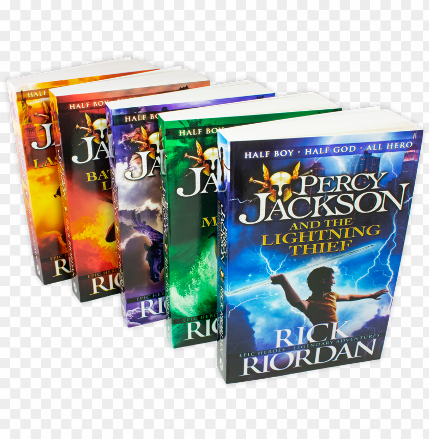 Download Percy Jackson And The Lightning Thief Book 1 Ebook Png Free Png Images Toppng