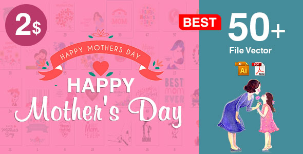 50+ Mother's Day Design Ideas