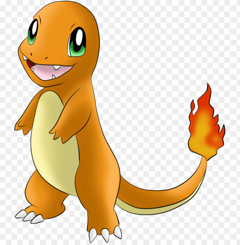 free PNG #004 charmander by icedragon300 - pokemon charmander PNG image with transparent background PNG images transparent