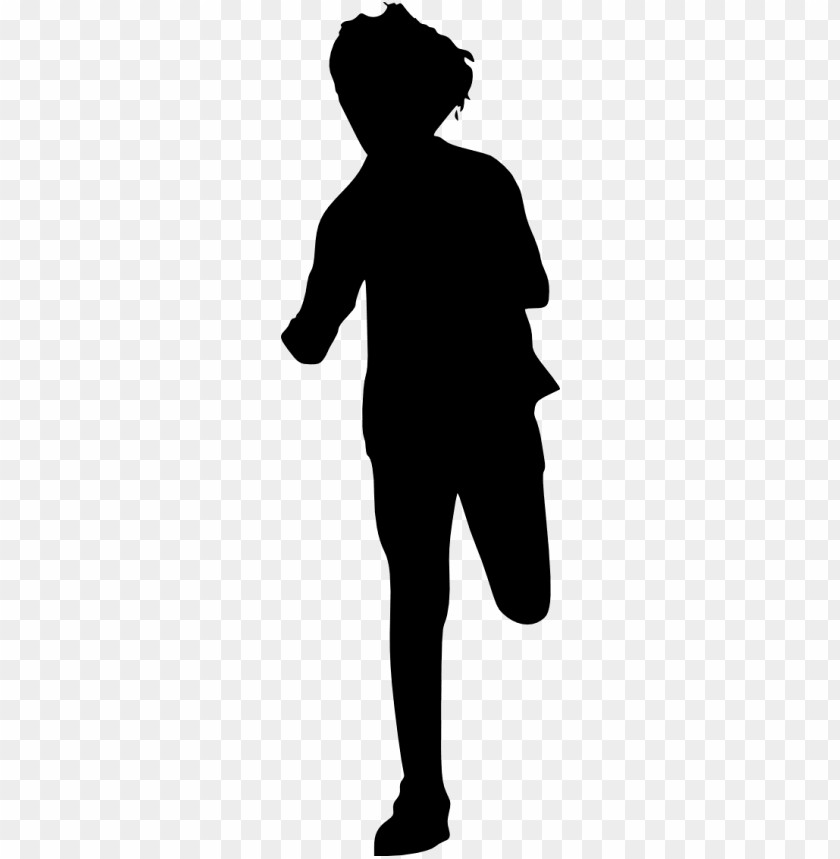 free PNG 10 kid children running silhouette - man running silhouette PNG image with transparent background PNG images transparent