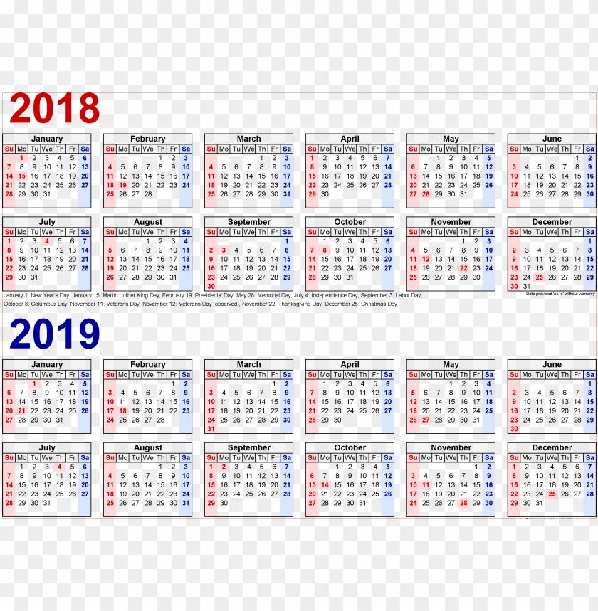 free PNG Download 2018 2019 calendar s png images background PNG images transparent