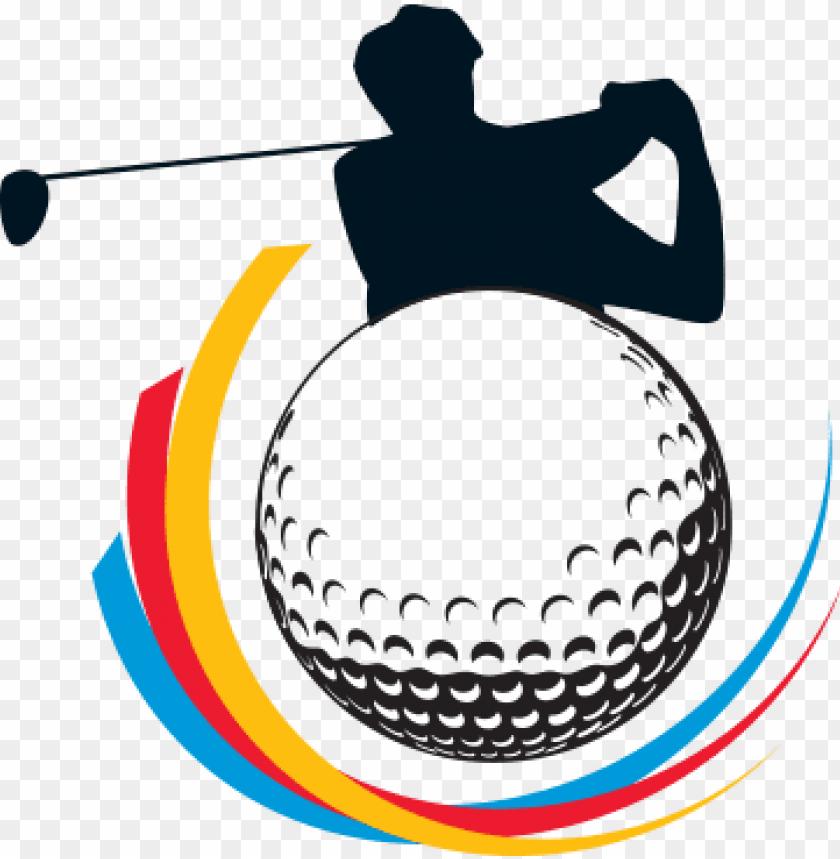 2018 fisu world university golf championship - clip art golf