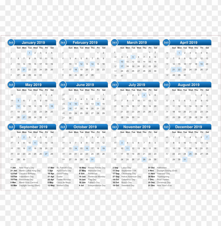 free PNG 2019 indian calendar hd png PNG images transparent