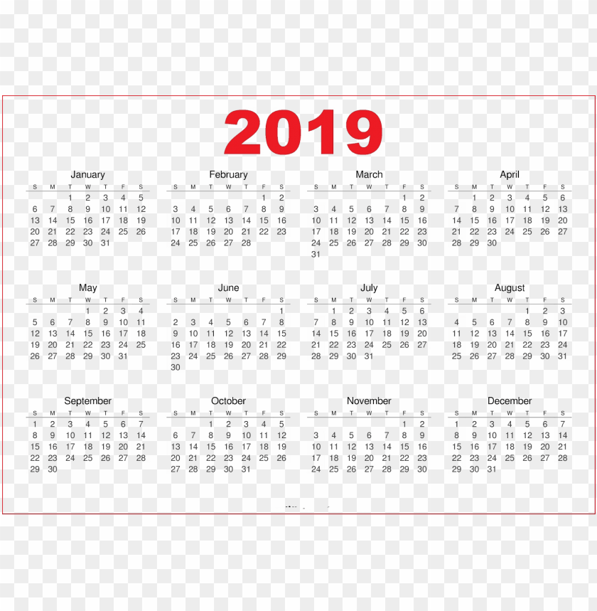 2019 Indian Calendar S Png Free Png Images Toppng