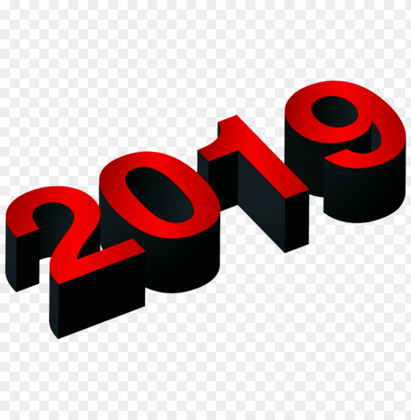 Download 3d Numeric 2019 3d Png Images Background Toppng