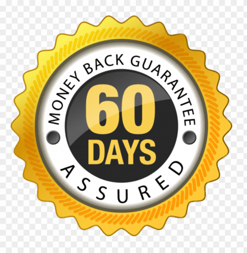 free PNG 60 days money back guarantee PNG image with transparent background PNG images transparent