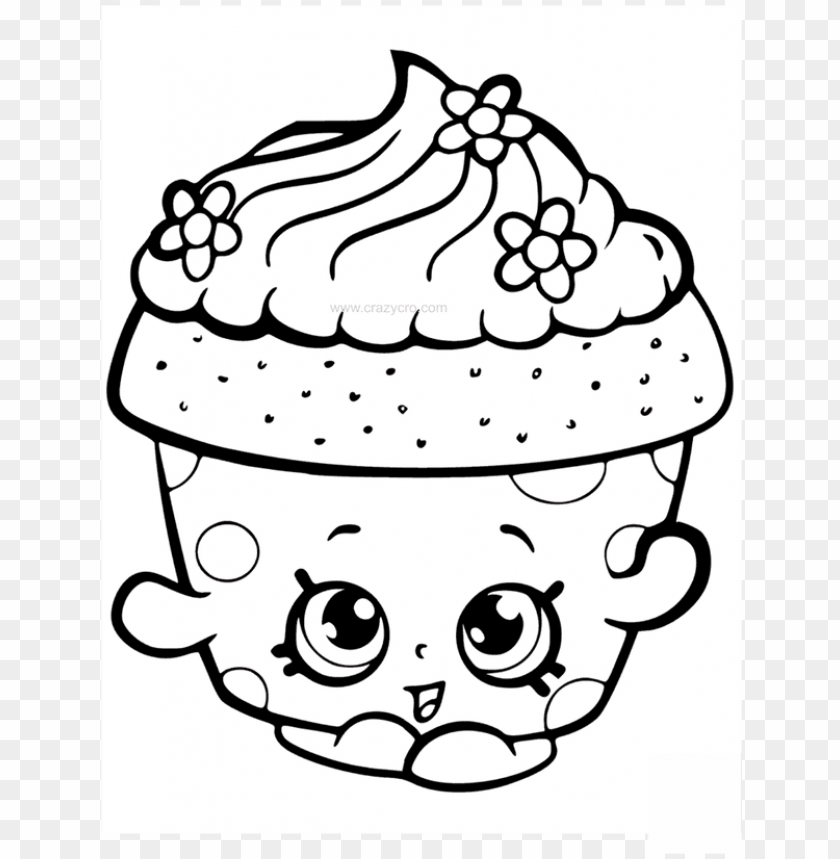 5200 Top Cute Cupcakes Coloring Pages , Free HD Download