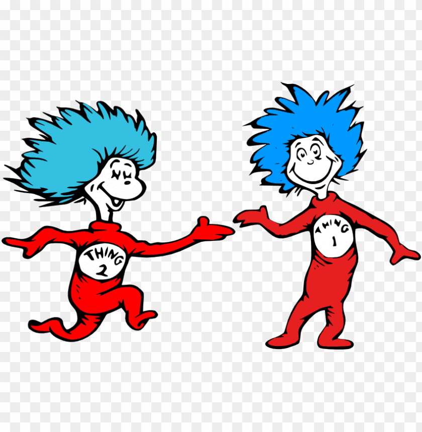 free PNG 74 - 18 kb - thing 1 and thing 2 shirts PNG image with transparent background PNG images transparent