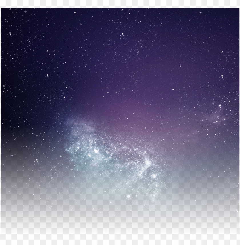Alaxy Night Star Sky Iali Sa Picture Transparent Night Sky Png Image With Transparent Background Toppng