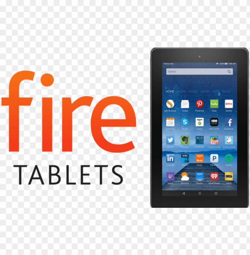 Amazon Kindle Fire Hd 8 2016 Png Image With Transparent Background