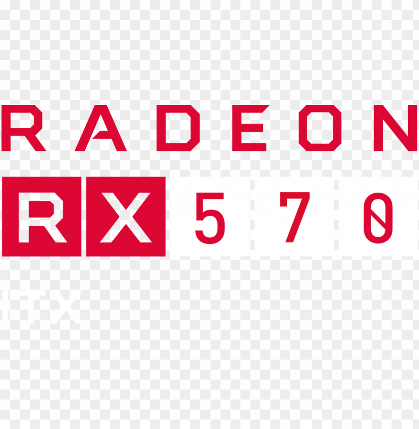 Amd Rx 570 Logo Png Image With Transparent Background Toppng