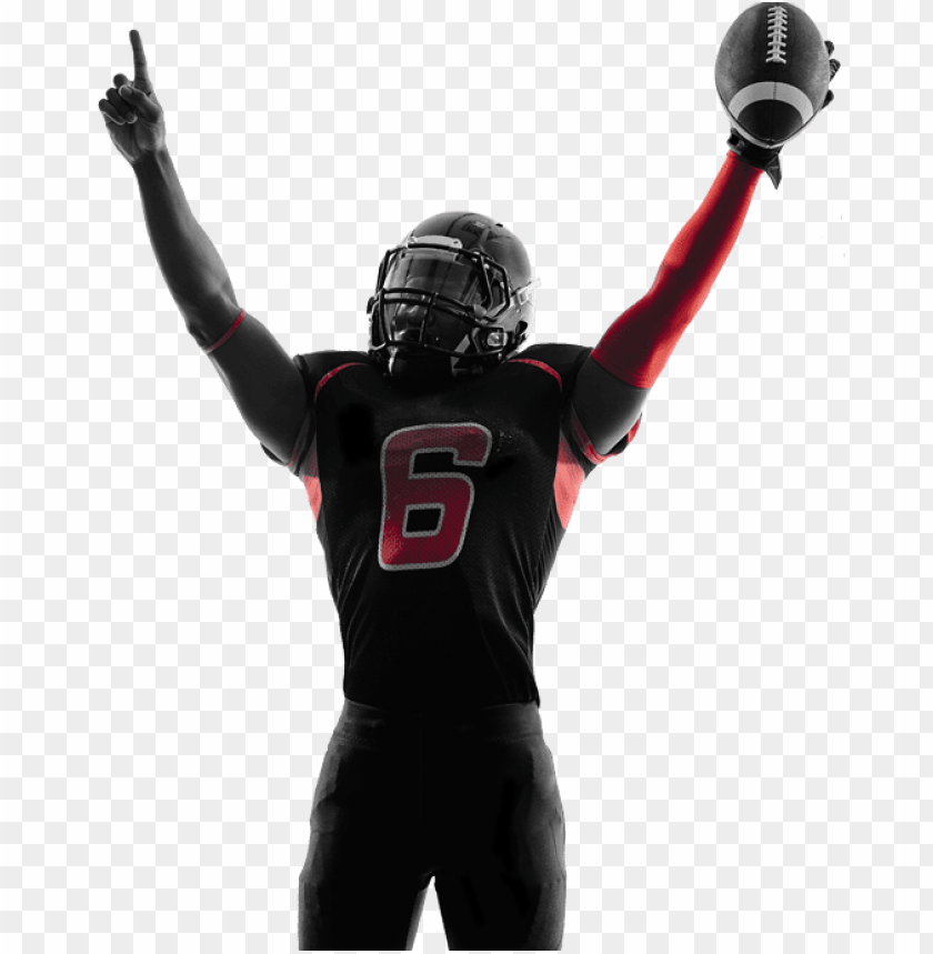 free PNG Download american football player celebrating png images background PNG images transparent