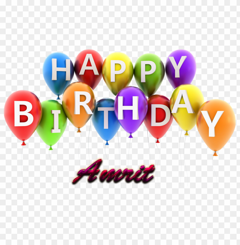 free png amrit happy birthday vector cake name png PNG images transparent
