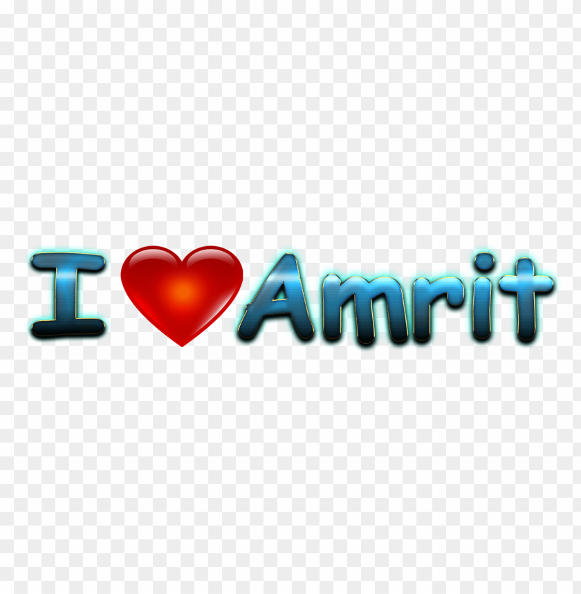 free png amrit heart name PNG images transparent