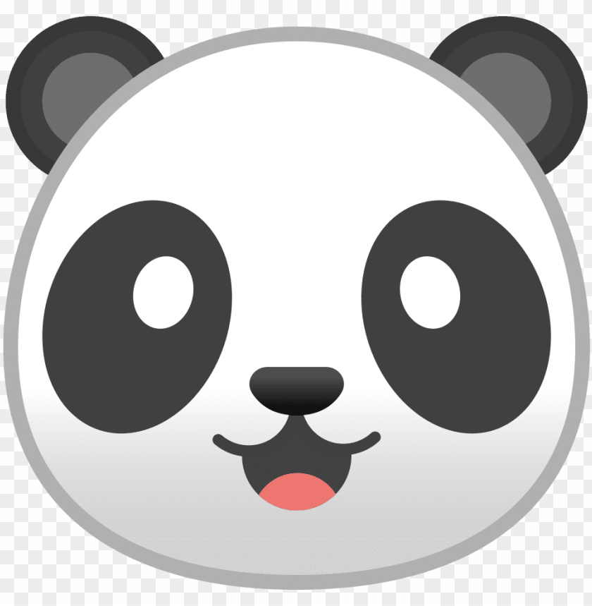free PNG anda face png jpg black and white library - panda icon PNG image with transparent background PNG images transparent
