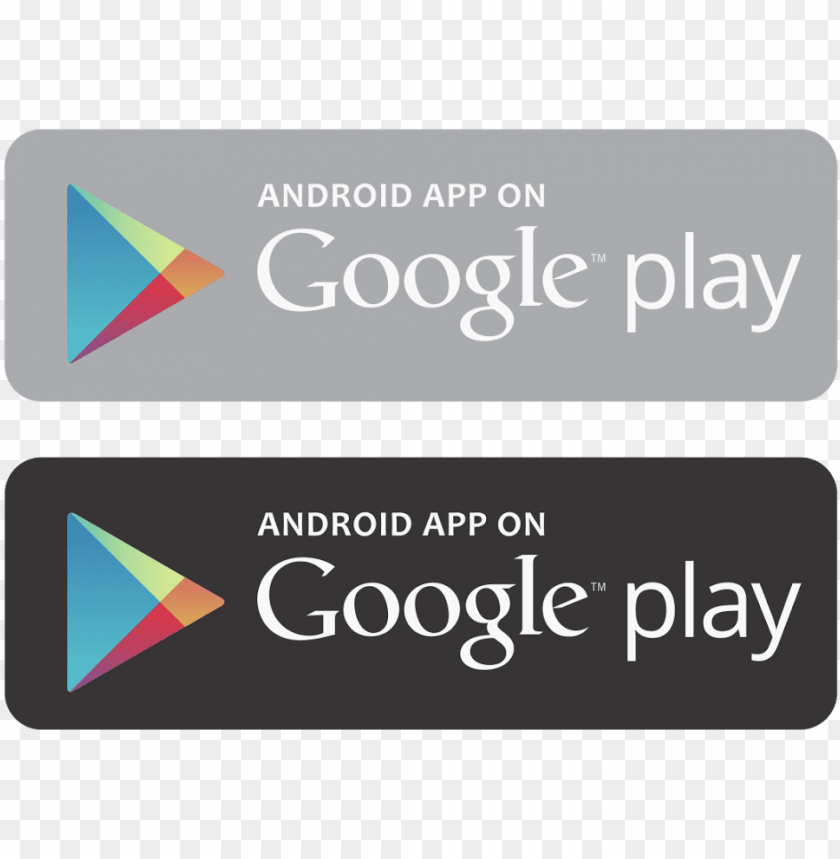 Download android app on google play vector vector library