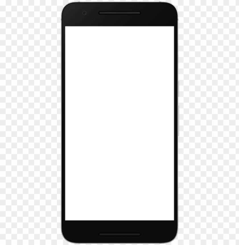 android phone frame hd PNG image with transparent background