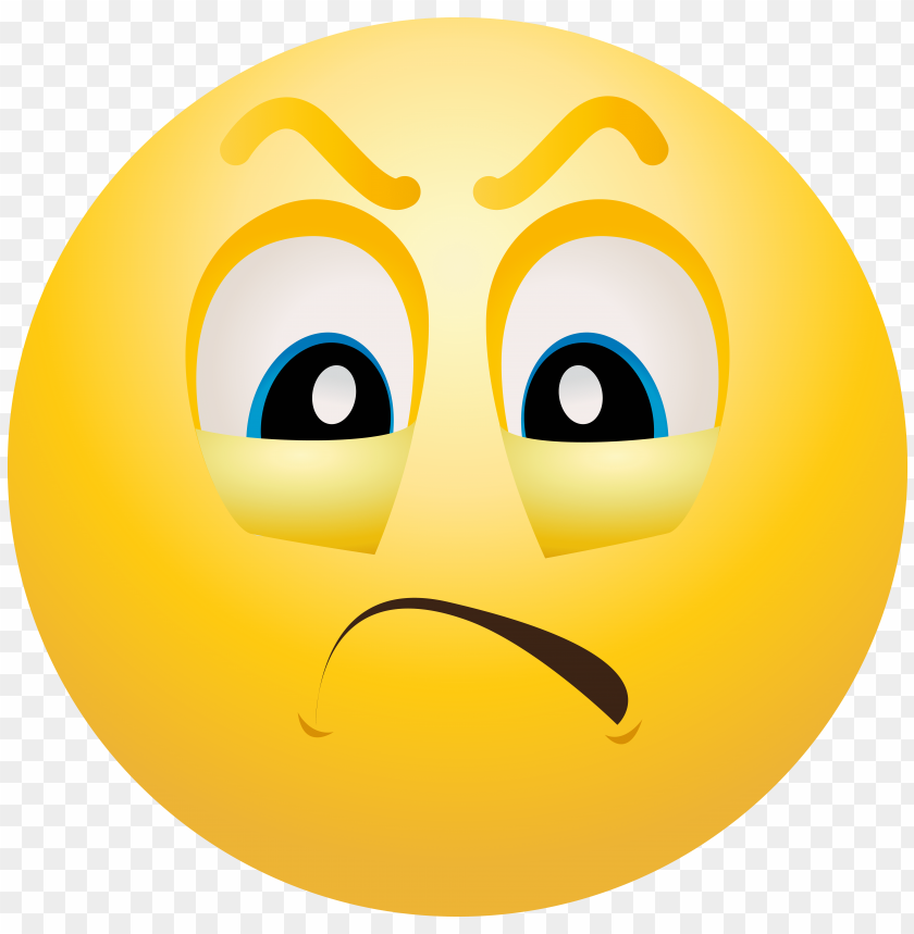 Download Angry Emoticon Png Images Background Toppng