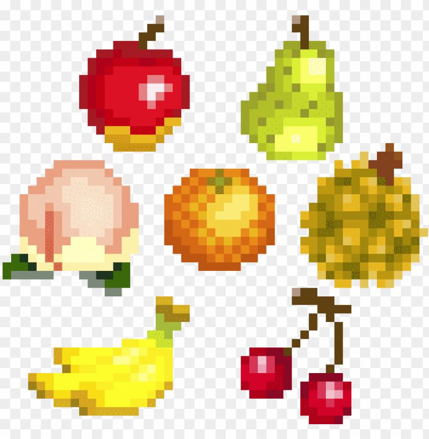 Animal Crossing Fruit Pixel Art Pixels New Leaf Acnl Animal
