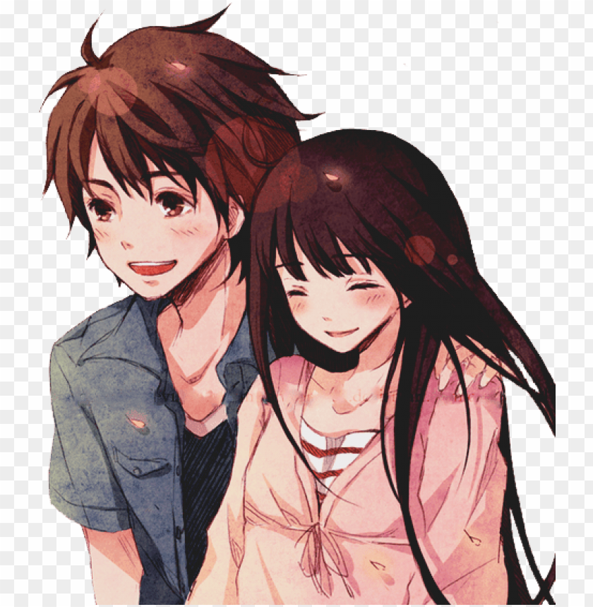 Anime Couple Png Images Transpa Free Pngmart Com Love Couple Anime Png Image With Transparent Background Toppng