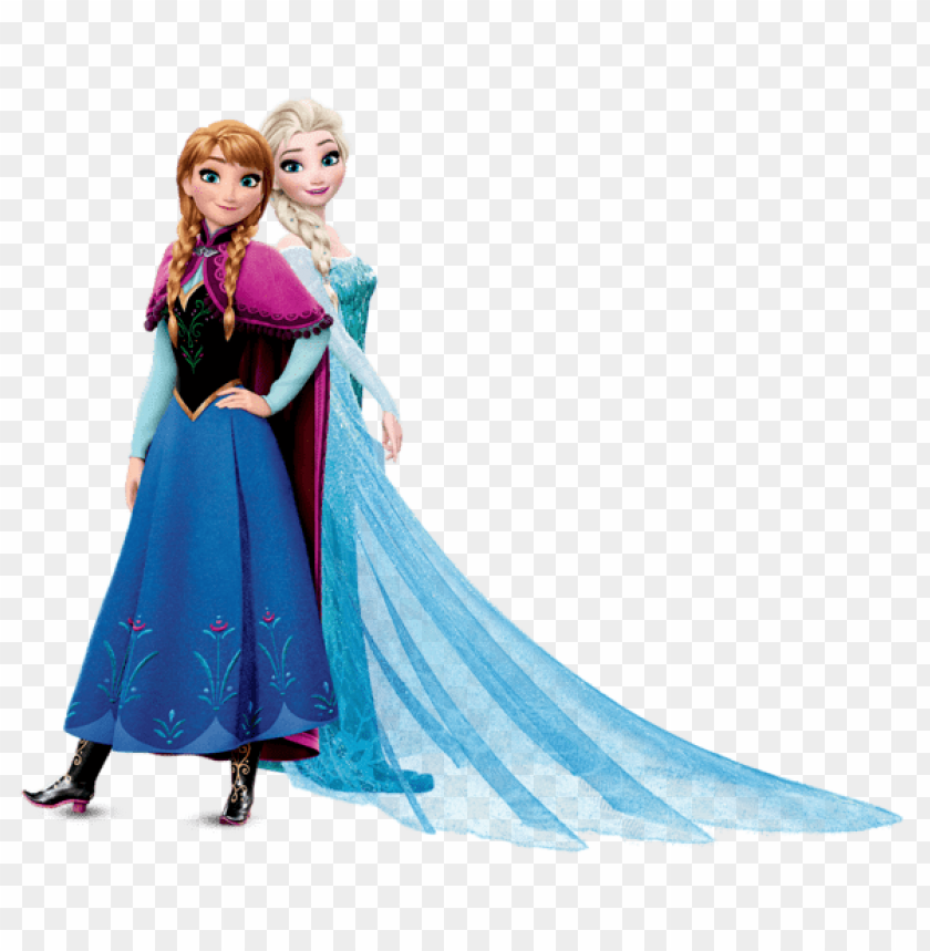Download Anna And Elsa Frozen Clipart Png Photo Toppng