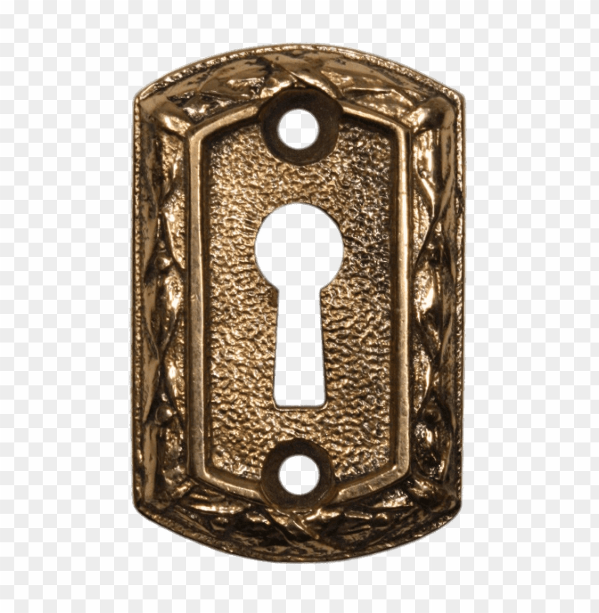 free PNG antique cast keyhole PNG image with transparent background PNG images transparent