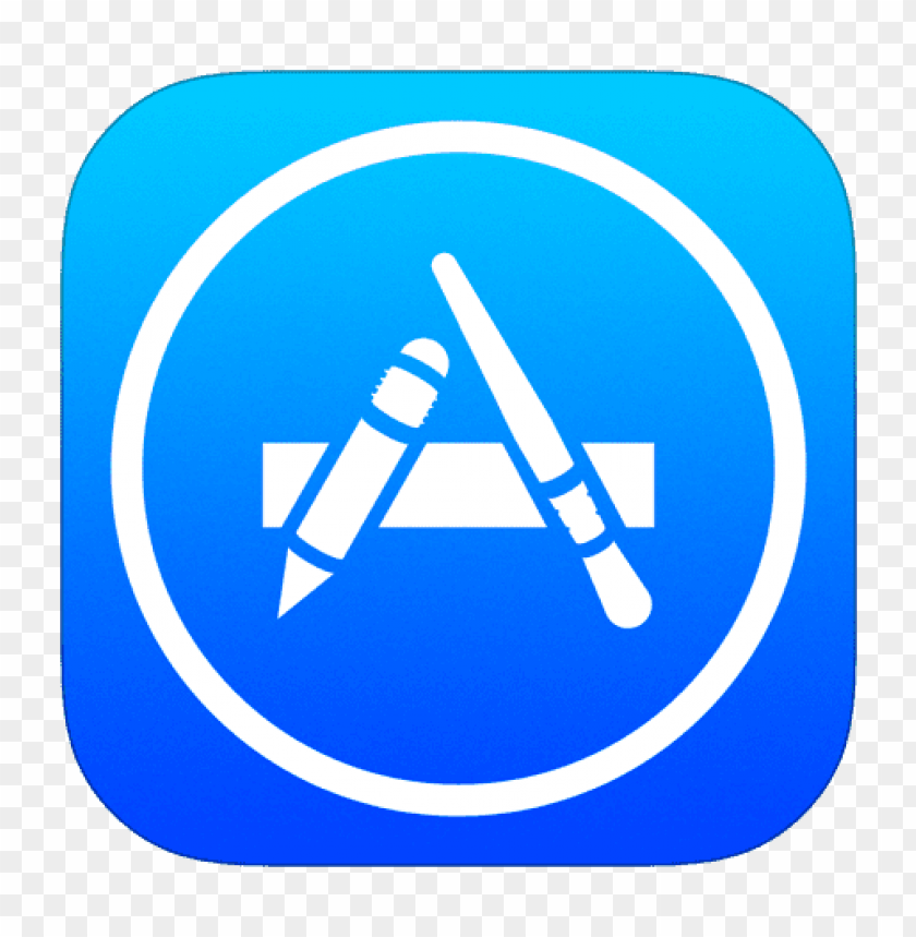 free PNG app store icon ios 7 png - Free PNG Images PNG images transparent