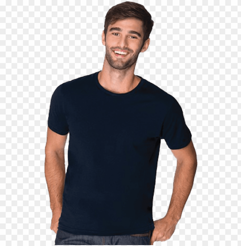 free PNG arment - black tshirt model PNG image with transparent background PNG images transparent