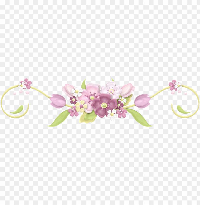 Arranjo De Flores Desenho Png Laco Com Flores Png Image With