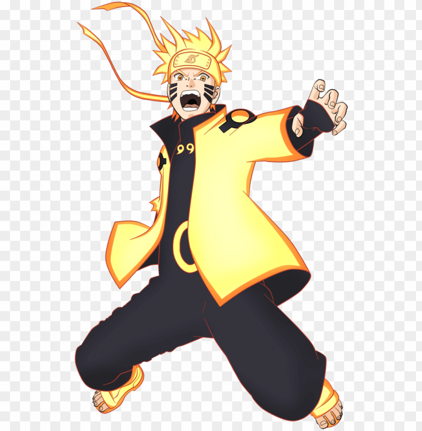 free PNG aruto modo kurama png - naruto six paths PNG image with transparent background PNG images transparent