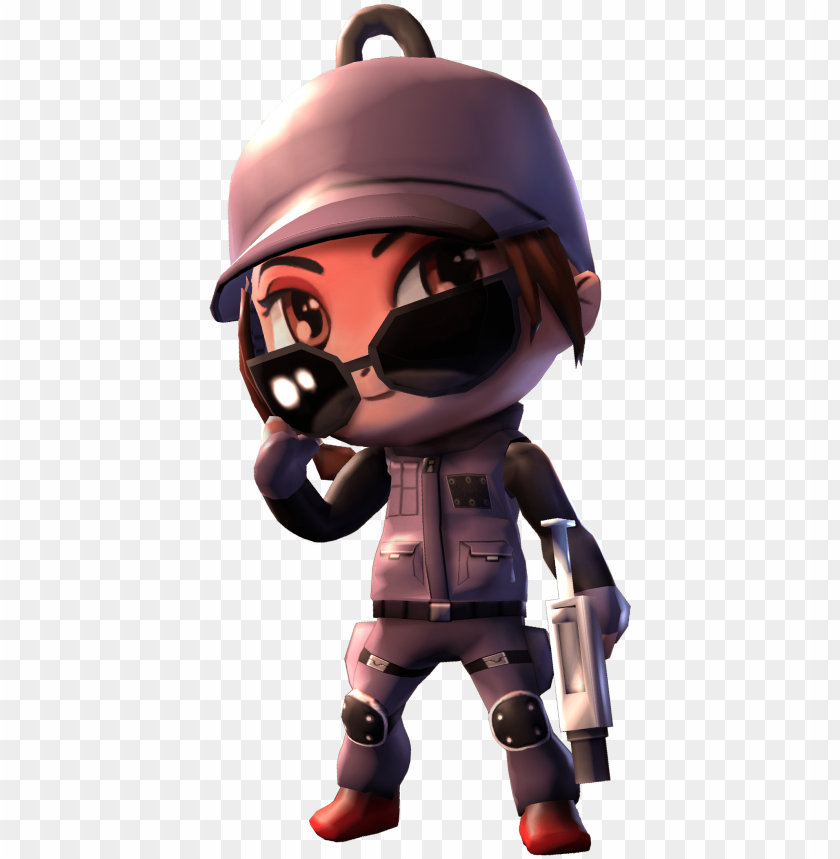 free PNG ash chibi rainbow six PNG image with transparent background PNG images transparent