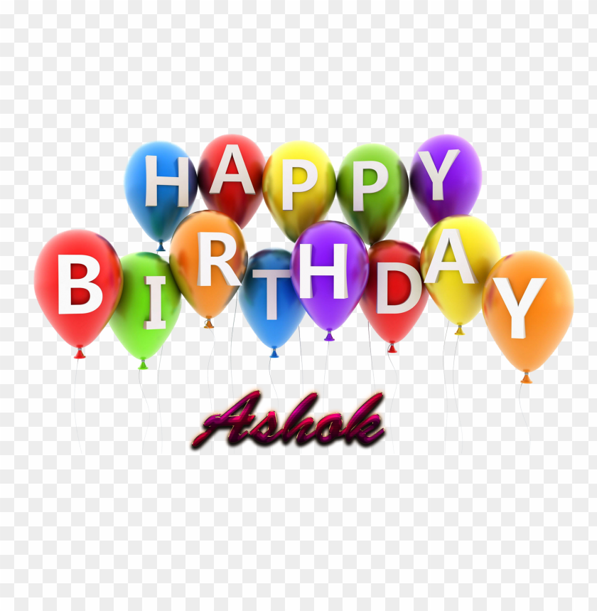 free PNG ashok happy birthday vector cake name png PNG images transparent