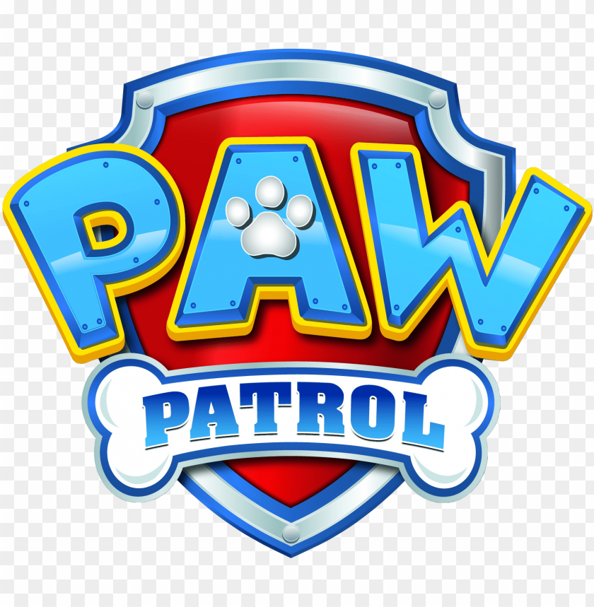 graphic relating to Free Printable Paw Patrol Badges called aw patrol symbol - paw patrol badge symbol PNG graphic with
