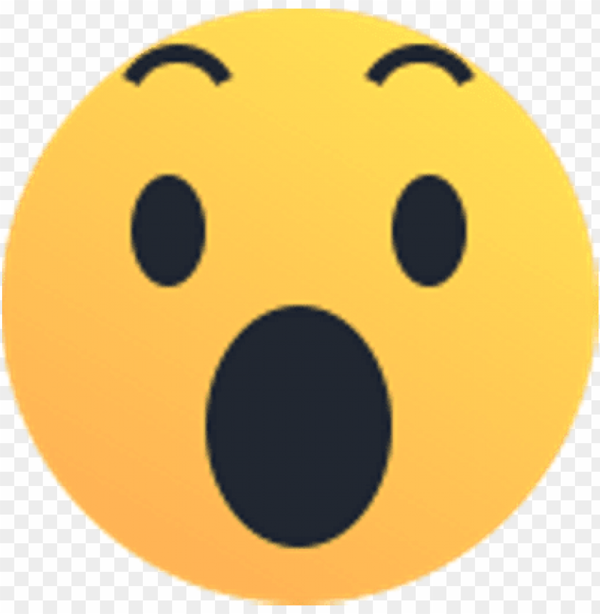 Download awe reaction emoji - emoji reactions png - Free PNG