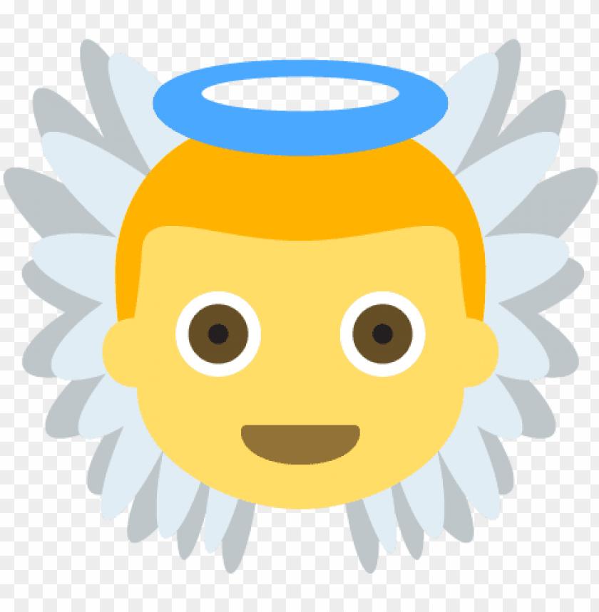 free PNG baby angel emoji emot vector icon - illustration PNG image with transparent background PNG images transparent