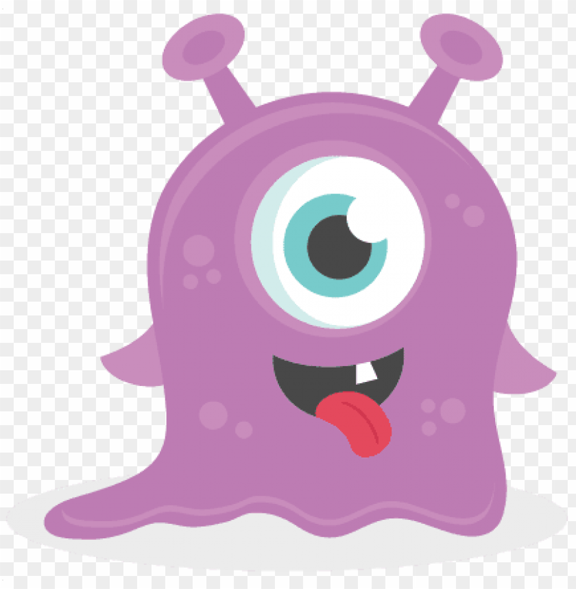 Baby Monster Svg Scrapbook Cut File Cute Clipart Files Little Monster Clip Art Png Image With Transparent Background Toppng