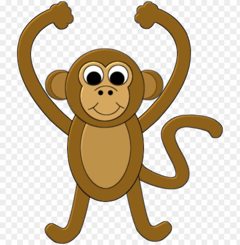 Background Transparent Monkey Monkey Cartoon Transparent