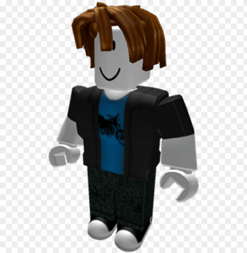 bacon hair - roblox bacon hair noob PNG image with