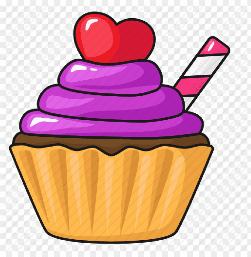 free PNG bakery, food, cupcake, dessert, sweet, valentines day - cupcake PNG image with transparent background PNG images transparent