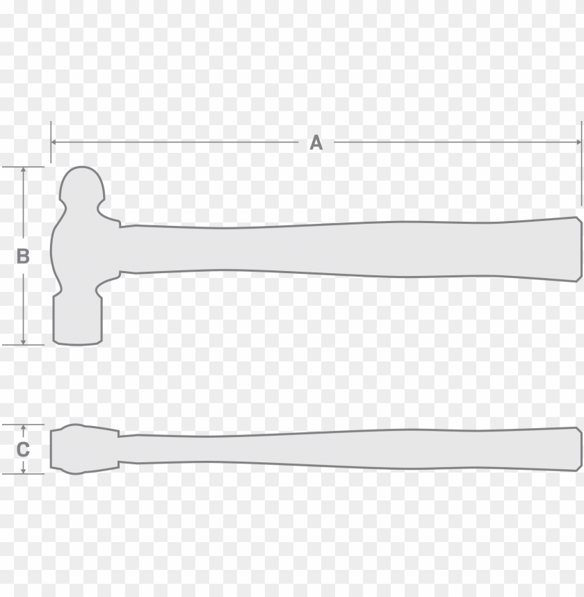 free PNG ball pein hammer - ball-peen hammer PNG image with transparent background PNG images transparent
